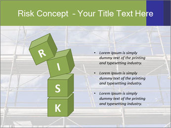 Metal scaffolding PowerPoint Template - Slide 81