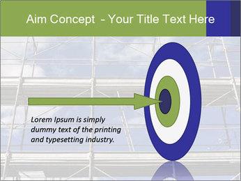 Metal scaffolding PowerPoint Template - Slide 83