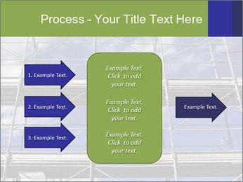 Metal scaffolding PowerPoint Template - Slide 85