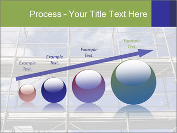 Metal scaffolding PowerPoint Template - Slide 87