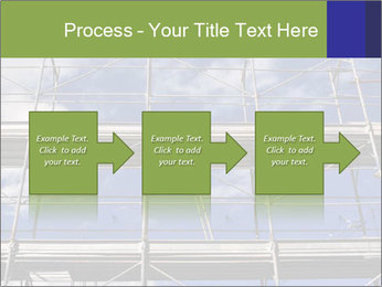 Metal scaffolding PowerPoint Template - Slide 88