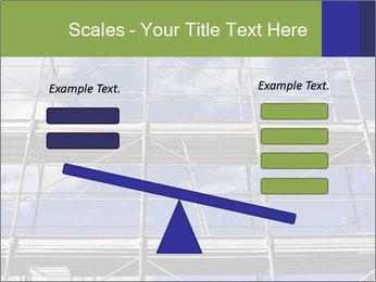 Metal scaffolding PowerPoint Template - Slide 89