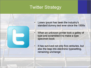 Metal scaffolding PowerPoint Template - Slide 9