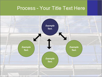 Metal scaffolding PowerPoint Template - Slide 91