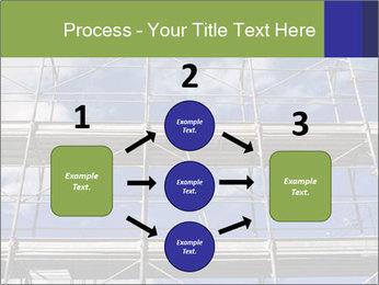 Metal scaffolding PowerPoint Template - Slide 92
