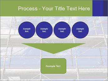 Metal scaffolding PowerPoint Template - Slide 93