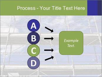 Metal scaffolding PowerPoint Template - Slide 94