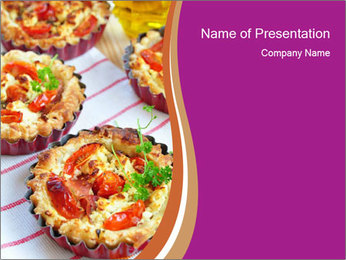 Appetizer PowerPoint Template