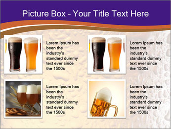 Beer glass. PowerPoint Template - Slide 14