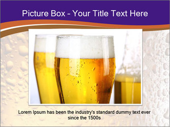 Beer glass. PowerPoint Template - Slide 15