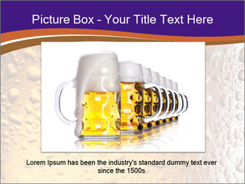 Beer glass. PowerPoint Template - Slide 16