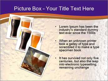 Beer glass. PowerPoint Template - Slide 17