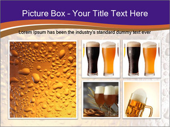 Beer glass. PowerPoint Template - Slide 19