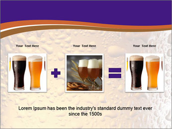 Beer glass. PowerPoint Template - Slide 22