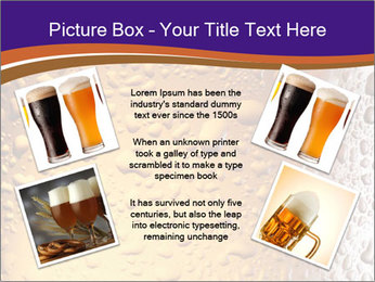 Beer glass. PowerPoint Template - Slide 24