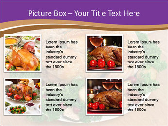 Stuffed chicken PowerPoint Template - Slide 14