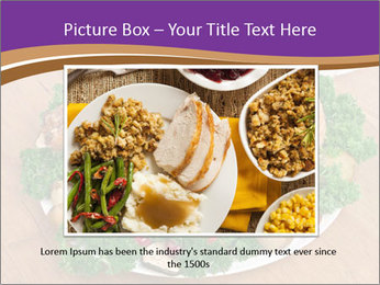 Stuffed chicken PowerPoint Template - Slide 15
