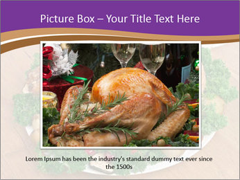 Stuffed chicken PowerPoint Template - Slide 16