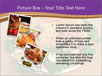 Stuffed chicken PowerPoint Template - Slide 17