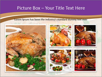 Stuffed chicken PowerPoint Template - Slide 19