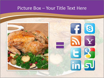Stuffed chicken PowerPoint Template - Slide 21