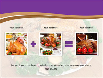 Stuffed chicken PowerPoint Template - Slide 22