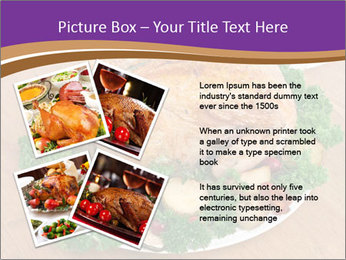 Stuffed chicken PowerPoint Template - Slide 23
