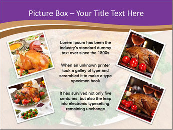 Stuffed chicken PowerPoint Template - Slide 24