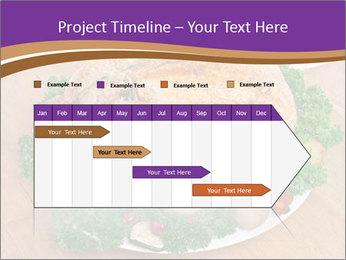 Stuffed chicken PowerPoint Template - Slide 25
