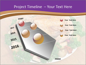 Stuffed chicken PowerPoint Template - Slide 26