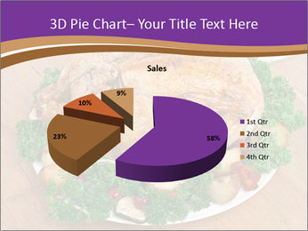 Stuffed chicken PowerPoint Template - Slide 35