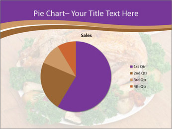 Stuffed chicken PowerPoint Template - Slide 36