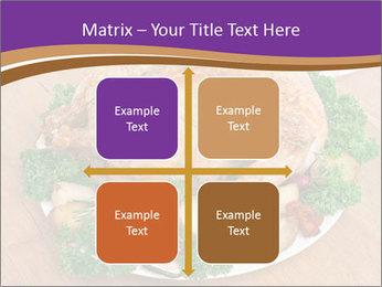Stuffed chicken PowerPoint Template - Slide 37