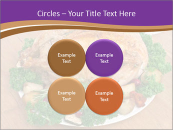 Stuffed chicken PowerPoint Template - Slide 38