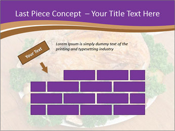 Stuffed chicken PowerPoint Template - Slide 46