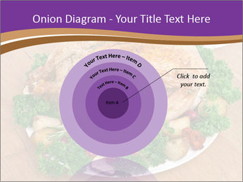 Stuffed chicken PowerPoint Template - Slide 61
