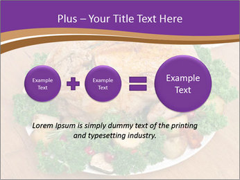 Stuffed chicken PowerPoint Template - Slide 75