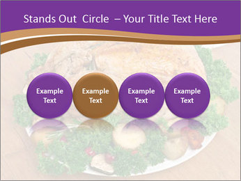 Stuffed chicken PowerPoint Template - Slide 76