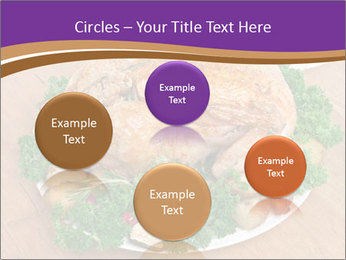 Stuffed chicken PowerPoint Template - Slide 77