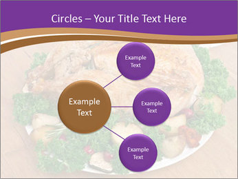 Stuffed chicken PowerPoint Template - Slide 79