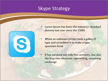 Stuffed chicken PowerPoint Template - Slide 8
