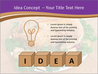 Stuffed chicken PowerPoint Template - Slide 80