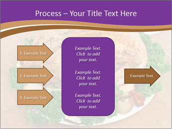 Stuffed chicken PowerPoint Template - Slide 85
