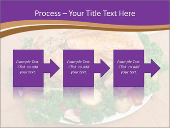 Stuffed chicken PowerPoint Template - Slide 88