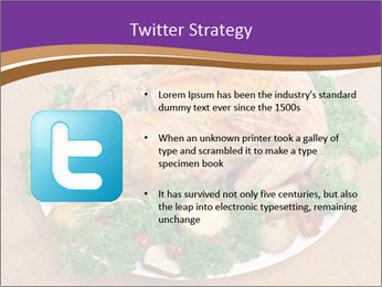 Stuffed chicken PowerPoint Template - Slide 9