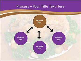 Stuffed chicken PowerPoint Template - Slide 91