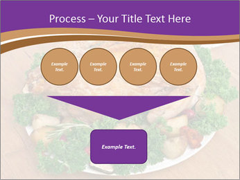 Stuffed chicken PowerPoint Template - Slide 93