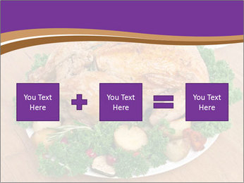 Stuffed chicken PowerPoint Template - Slide 95