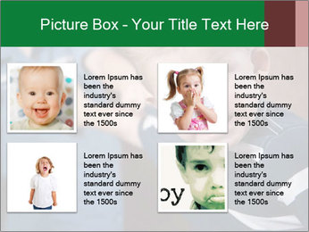 Angry little boy PowerPoint Templates - Slide 14