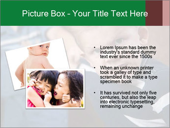 Angry little boy PowerPoint Templates - Slide 20
